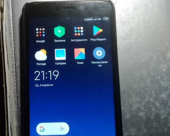 Xiaomi Redmi 4X 16 ГБ ОЗП 2 ГБ 1,4 ГГц