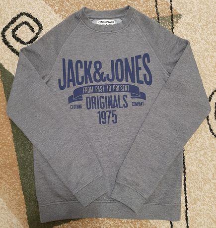 Свитшот Jack & Jones (оригинал) на флисе pазмер S