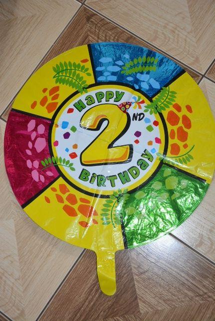 Balon na hel na 2 urodziny, 18 cali