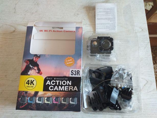 Камера 4k wi-fi action camera