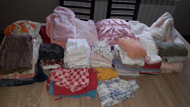 Ubranka dla dziewczynki r. 80-86 cm