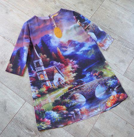N&P Fashion_sukienka z printem_cottage_rozmiar L/XL