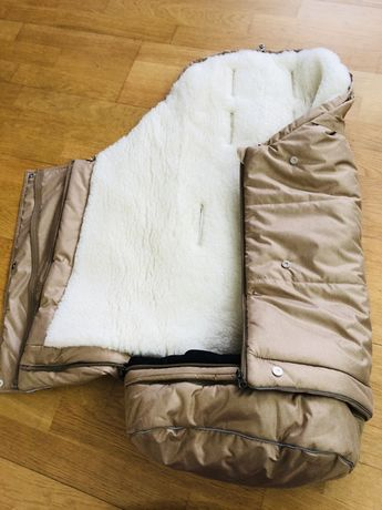 Зимний конверт на овчине ДоРечi 0-36мес