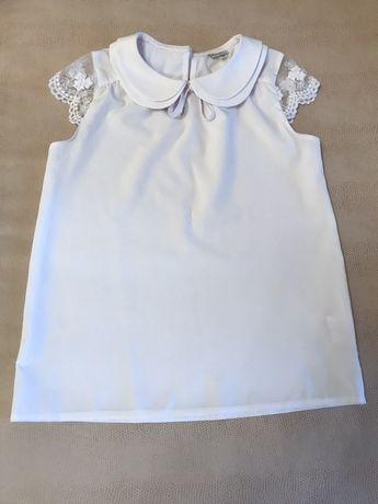 Блузка на девочку 128 рост