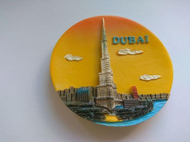 Magnes na lodówkę z Dubaju
