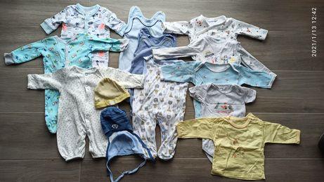 Paka ubranek niemowlęcych 56/62