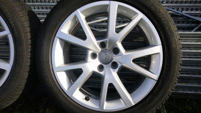 Orginalne felgi alufelgi 18cali Audi A6C7,A8 ET37 7,5J×18 opony gratis