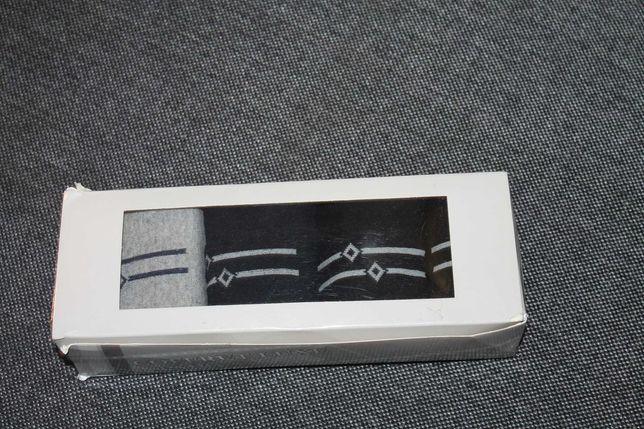 Męskie skarpety w pudełku 4 pary