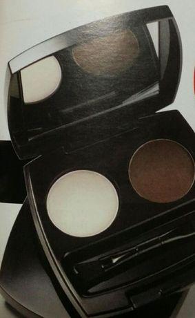 Nowy Zestaw cieni do stylizacji brwi Avon 4 odcienie