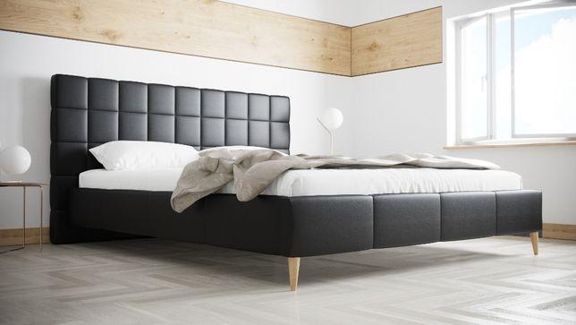 Łóżko R5 160x200 Sypialniane Tapicerowane Stelaż Kolory