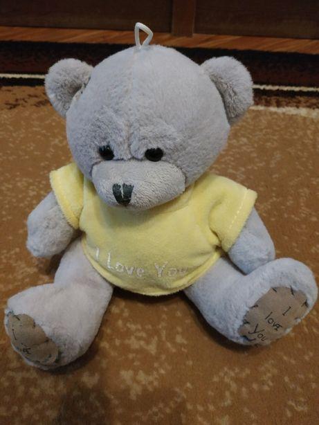 Музыкальная мягкая игрушка медвежонок