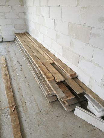 Deski szalunkowy calówki ~3m3