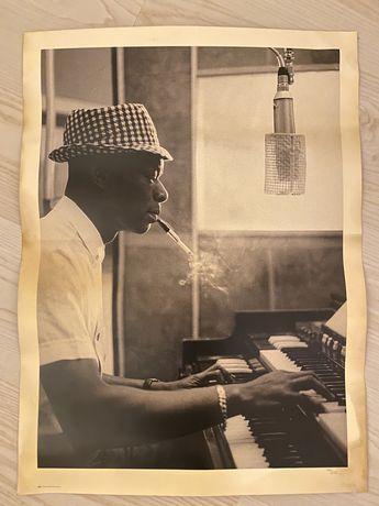 Poster Nat King Cole Raro 61.5/45.5cm