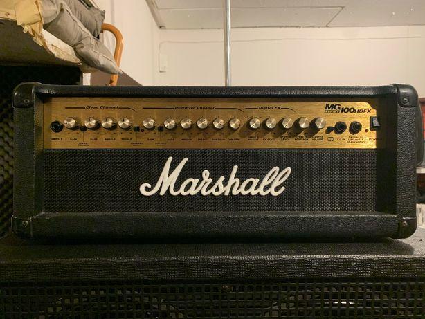 Marshall MG100HDFX Wzmacniacz gitarowy z sekcją cyfrowych efektów