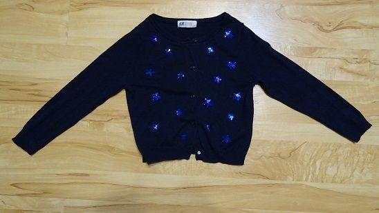 sweterek dziewczęcy w rozmiarze 98-104