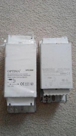 Баласт (дросель) к Днат 250 Вт VS Оптима, медный и светильник 150 в