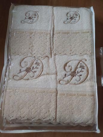 Conjunto de toalhas de casa de banho
