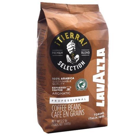 Кофе Lavazza Tierra Selection в зернах 1 кг (Италия)