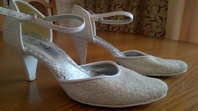 Buty ślubne rozmiar 36 dl wkl 25,5 cm