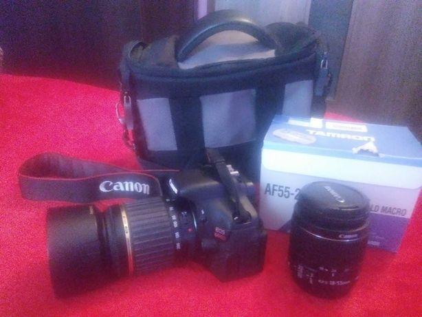 Canon eos 600d+ 2 obiektywy