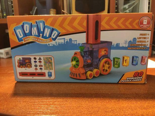 Домино поезд игрушка