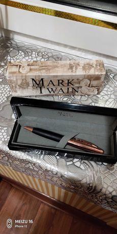 Новая ручка Маrk Twan привезена из Германии в деревянном футляре