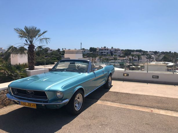 Ford Mustang Cabrio 68