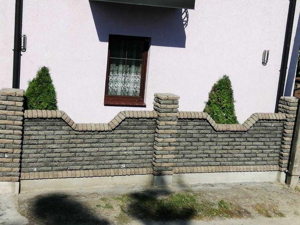 Цегла рвана на паркан, Облицювальна, Декоративна.