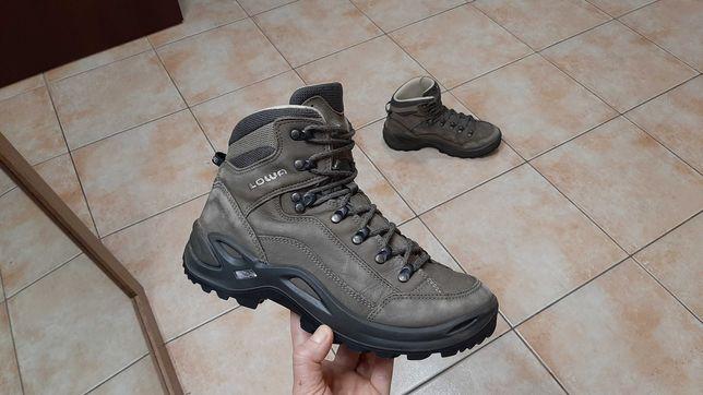 39р,25см,Кожаные трекинговые сапоги,ботинки ,кроссовки Lowa (Лова)