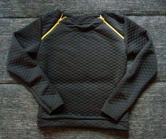 NOWA Bluza bluzka pikowana suwaki