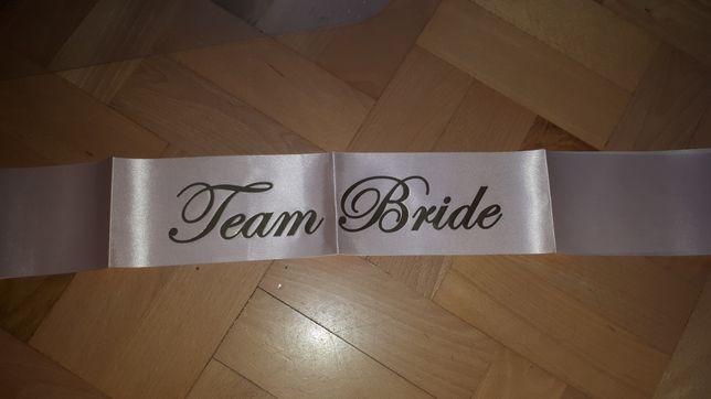 Szarfa Team Bride