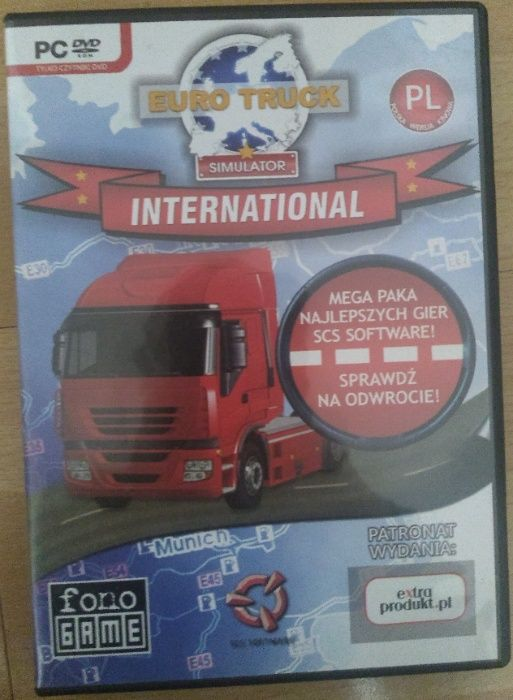 symulator ciężarówki i autobusu euro truck simulator international Bytom - image 1