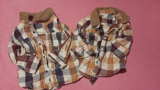 Koszule, rozmiar 1 ( do 3 miesiecy) oraz 3-6 m-ca