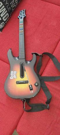 X-Box360 DESBLOQUEADA+ guitarra+7 jogos originais + 16 gravados