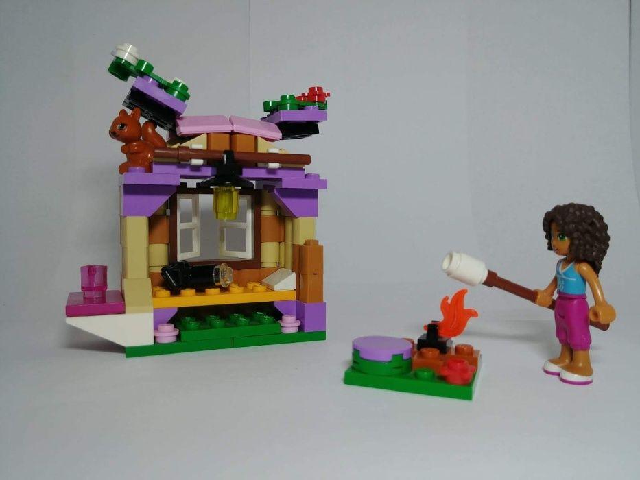 4 zestawy Lego Friends: Treserka Psów, Piesek, Górska Chatka, Miś Piaseczno - image 1