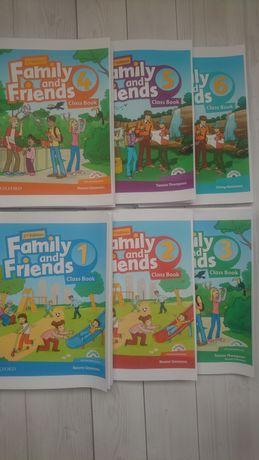 Family and friends 1, 2, 3, 4, 5, 6 металлическая / пластиковая пружин
