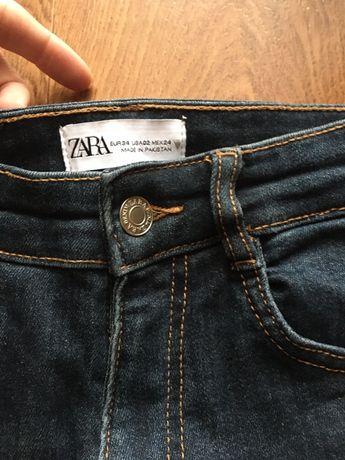 Джинсы скини Zara новая коллекция ХС