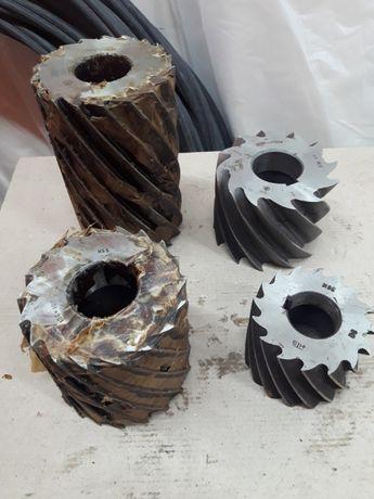 Фрезы цилиндрические из быстрорежущей стали