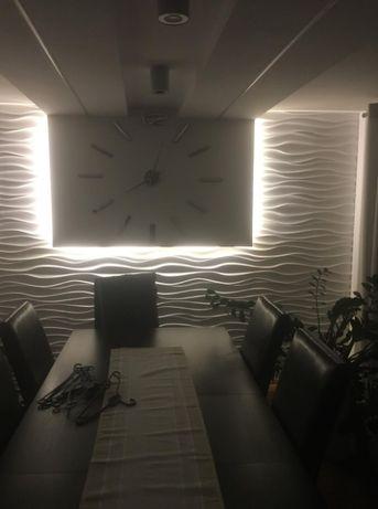 50x50 cm FALA ANGELL panel 3D panele gipsowe kamień dekoracyjny