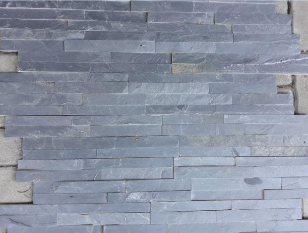 PANEL ścienny/ELEWACYJNY–Łupek czarny-Kamień naturalny–elewacje, ścian