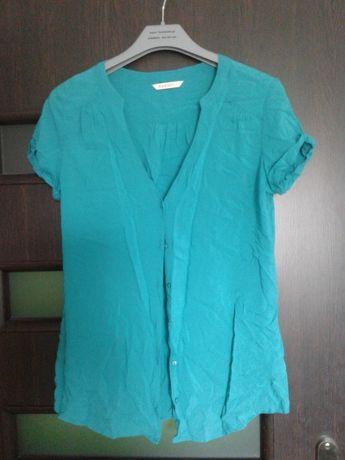 Nowa bluzka koszulowa z krótkim rękawem firmy Cameliu r.38