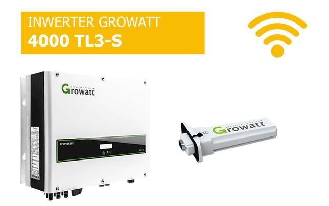 Falownik Growatt 4000 TL3-S WiFi Inwerter cena brutto