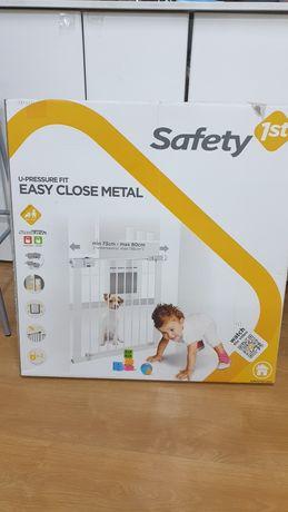 Grade protecção escadas porta criança