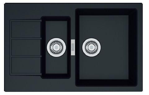 Мойка FRANKE SID 651-78 (114.0497.984) черная мийка раковина