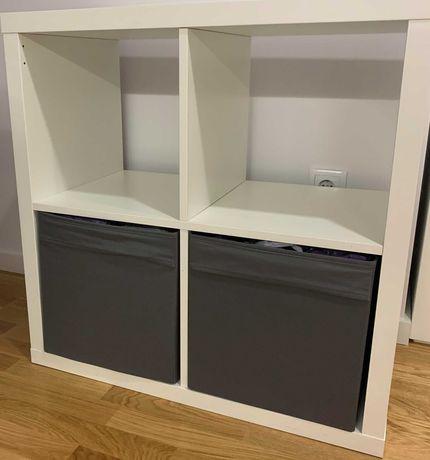 Estante KALLAX & caixas DRÖNA IKEA