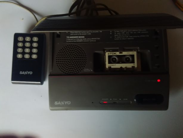 Atendedor de chamadas com sistema remoto SANYO