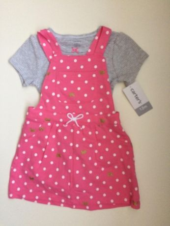 Sukienka body r.80 roczek Carter's NOWE z USA