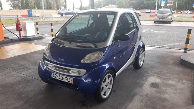 Smart fortwo 2002, Caixa Auto, a/c, Teto panorâmico