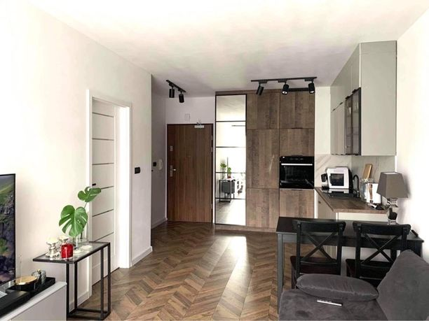 Mieszkanie 2 pokoje 40m2 bazantow ogrodek