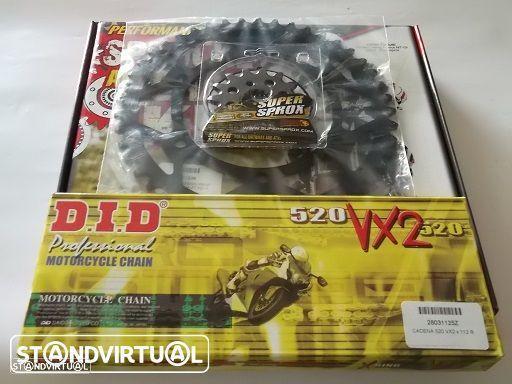 Kit Transmissao corr.DID X-Ring Yamaha XTZ 660 Tenere, XTZ 750 Super Tenere